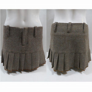 Abercrombie & Fitch skirt 2 tweed pleated mini